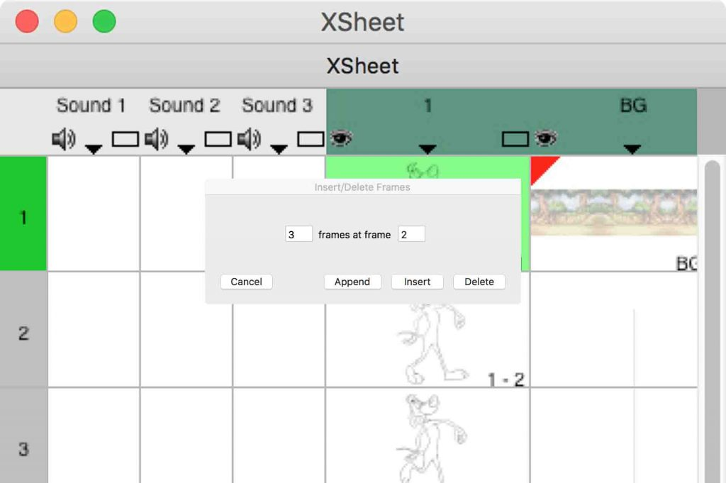 Traditional Animation Xsheet is what animators use for a timeline.